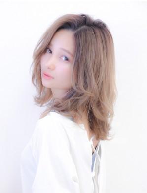 透明感バツグン☆外国人風★アッシュ